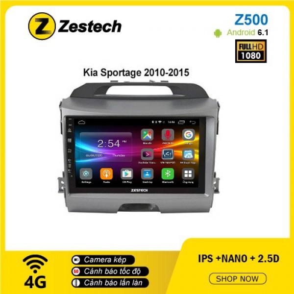 Màn hình ô tô DVD Android Z500 – Kia Sportage