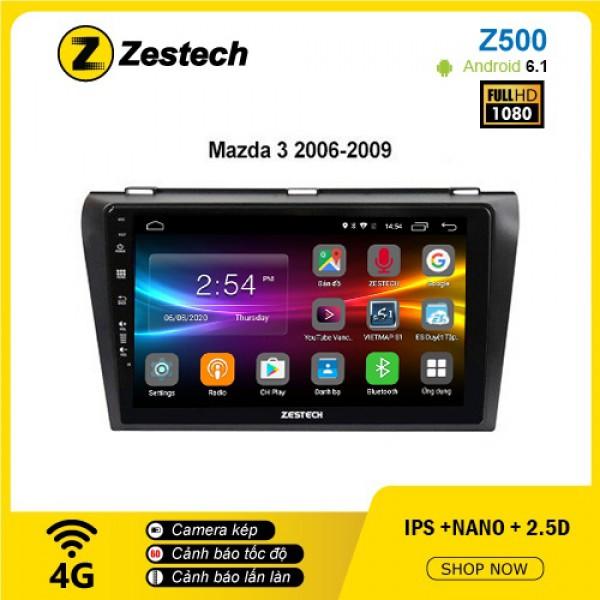 Màn hình ô tô DVD Android Z500 – Mazda 3