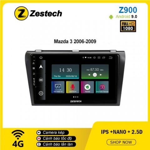 Màn hình ô tô DVD Android Z900 – Mazda 3