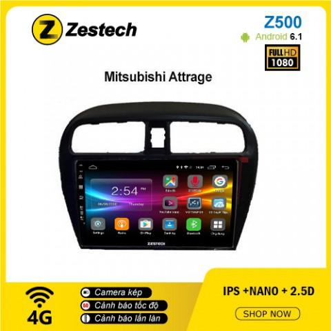 Màn hình ô tô DVD Android Z500 – Mitsubishi Attrage