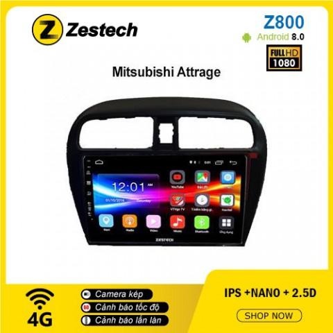 Màn hình ô tô DVD Android Z800 – Mitsubishi Attrage