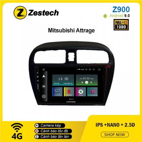 Màn hình ô tô DVD Android Z900 – Mitsubishi Attrage