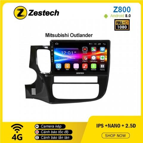 Màn hình ô tô DVD Android Z800 – Mitsubishi Outlander
