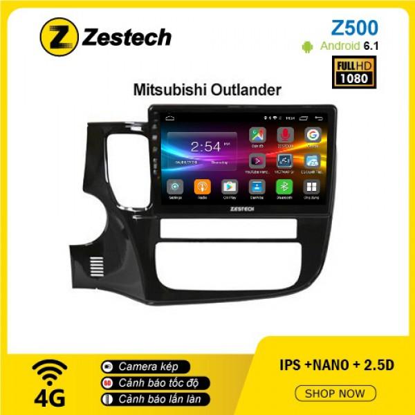 Màn hình ô tô DVD Android Z500 – Mitsubishi Outlander