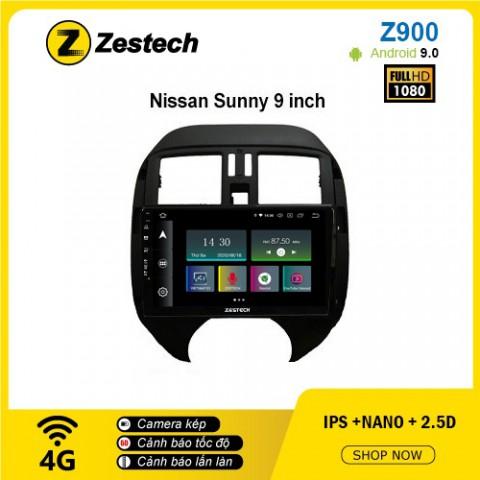 Màn hình ô tô DVD Android Z900 – Nissan Sunny