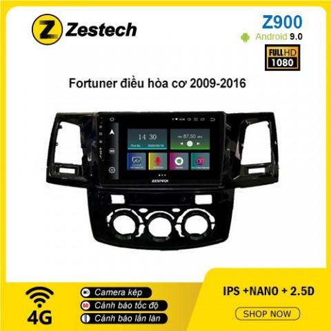 Màn hình ô tô DVD Android Z900 – Toyota Fortuner