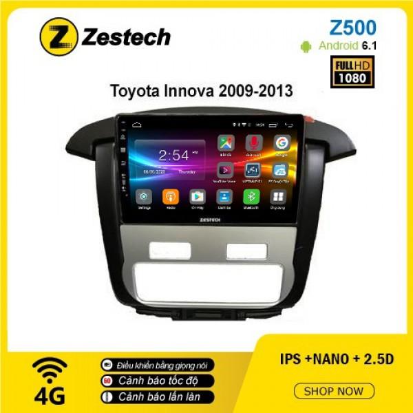 Màn hình ô tô DVD Android Z500 – Toyota Innova