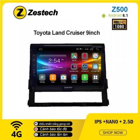 Màn hình ô tô DVD Android Z500 – Toyota Land Cruiser