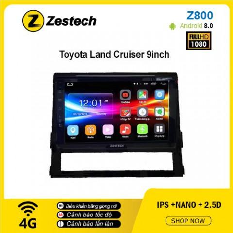 Màn hình ô tô DVD Android Z800 – Toyota Land Cruiser