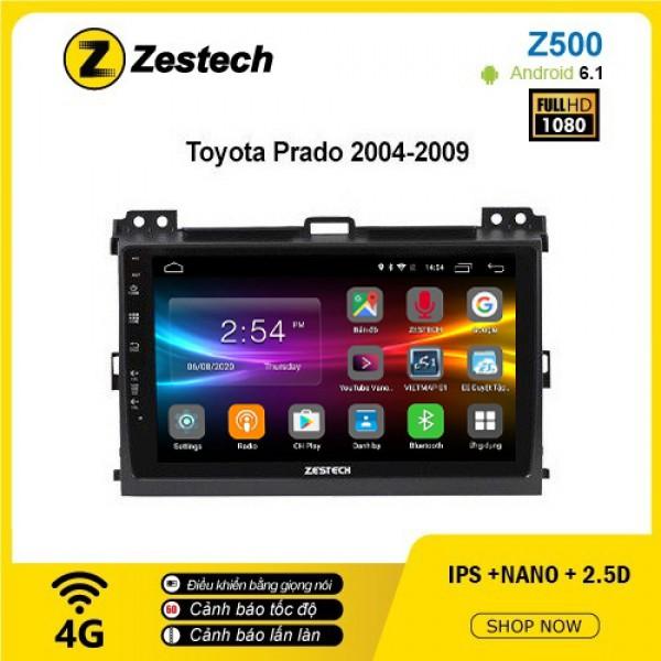 Màn hình ô tô DVD Android Z500 – Toyota Prado