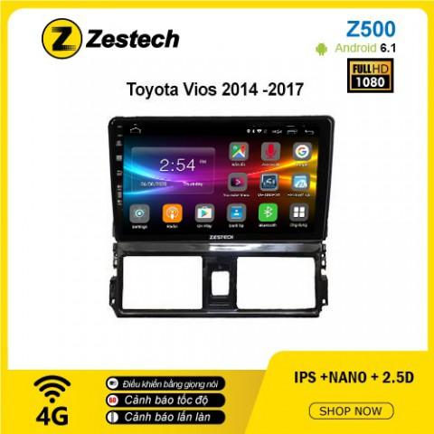 Màn hình ô tô DVD Android Z500 – Toyota Vios