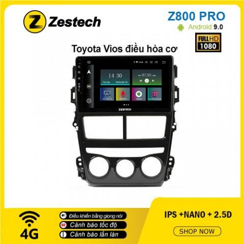 Màn hình ô tô DVD Z800 Pro – Toyota Vios