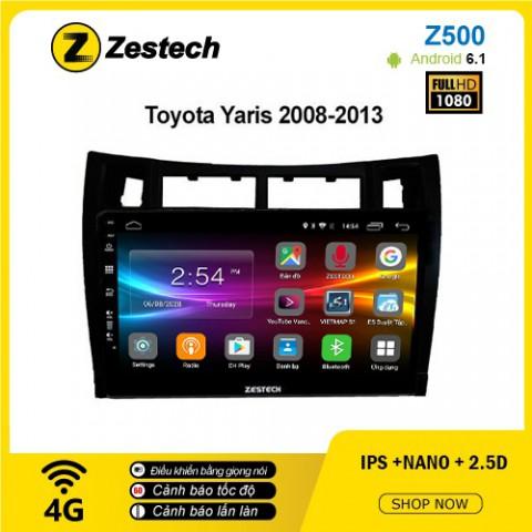 Màn hình ô tô DVD Android Z500 – Toyota Yaris