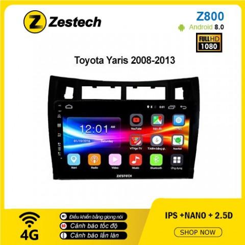 Màn hình ô tô DVD Android Z800 – Toyota Yaris