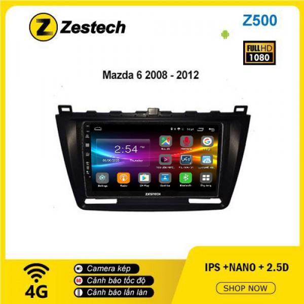 Màn hình ô tô DVD Android Z500 – Mazda 6