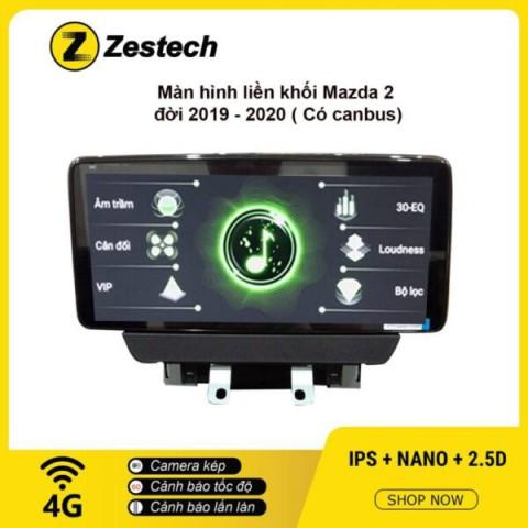 Màn hình ô tô DVD Android liền khối – Mazda 2 2019 – 2020