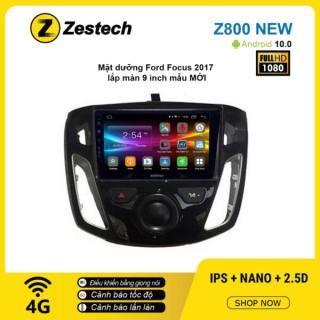 Màn hình ô tô DVD Android Z800 New – Ford Focus 2017 mẫu mới