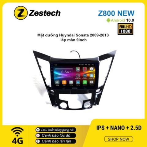 Màn hình ô tô DVD Android Z800 New – Huyndai Sonata 2009 – 2013