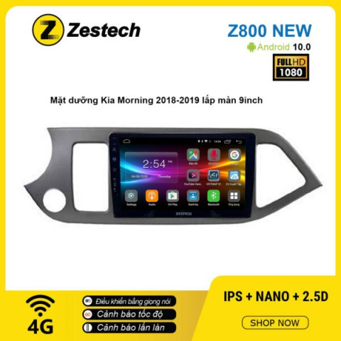 Màn hình ô tô DVD Android Z800 New – KIA Morning 2018 – 2019