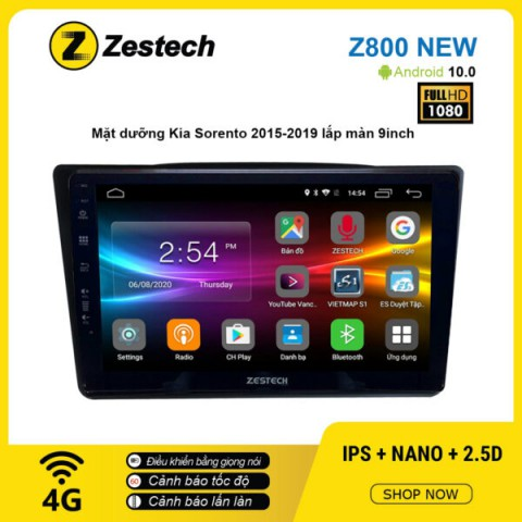 Màn hình ô tô DVD Android Z800 New – KIA Sorento 2015 – 2019