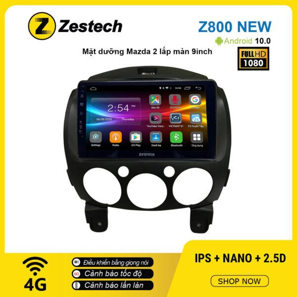 Màn hình ô tô DVD Android Z800 New – Mazda 2