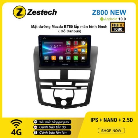 Màn hình ô tô DVD Android Z800 New – Mazda BT50 có Canbus