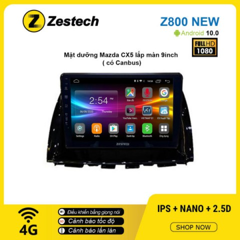 Màn hình ô tô DVD Android Z800 New – Mazda CX5 9inch có Canbus