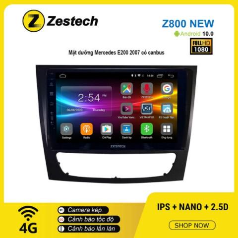 Màn hình ô tô DVD Android Z800 New – Mercedes E200 2007 có Canbus