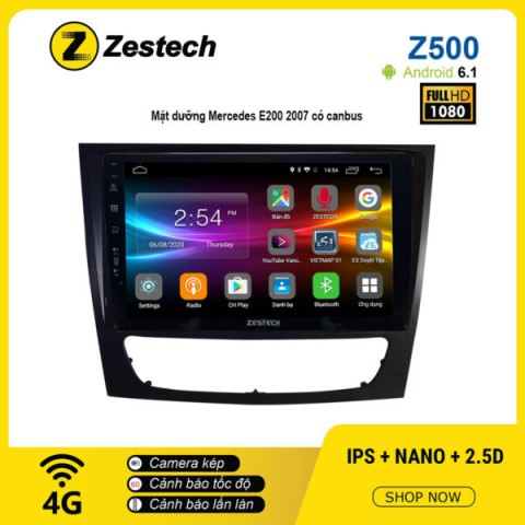 Màn hình ô tô DVD Android Z500 – Mercedes E200 2007