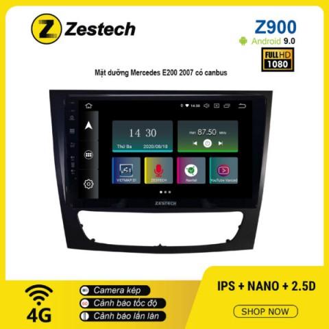 Màn hình ô tô DVD Android Z900 – Mercedes E200 2007 có Canbus