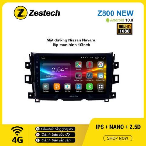 Màn hình ô tô DVD Android Z800 New – Nissan Navara