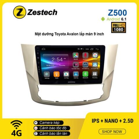 Màn hình ô tô DVD Android Z500 – Toyota Avalon