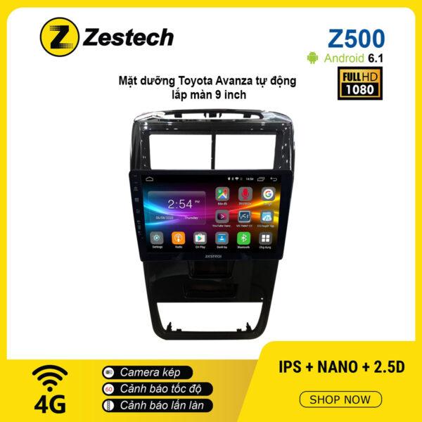 Màn hình ô tô DVD Android Z500 – Toyota Avanza tự động