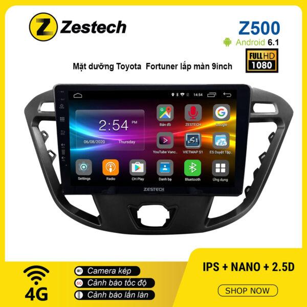 Màn hình ô tô DVD Android Z500 – Toyota Fortuner