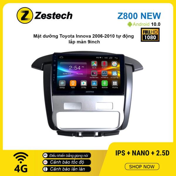 Màn hình ô tô DVD Android Z800 New – Toyota Innova 2006 – 2010