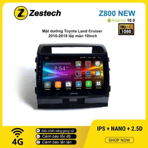 Màn hình ô tô DVD Android Z800 New – Toyota Land Cruiser 2010 – 2015