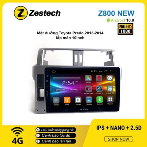 Màn hình ô tô DVD Android Z800 New – Toyota Prado 2013 – 2014