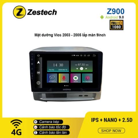 Màn hình ô tô DVD Android Z900 – Toyota Vios 2003 – 2005