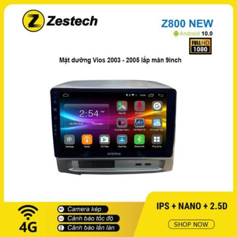 Màn hình ô tô DVD Android Z800 New – Toyota Vios 2003 – 2005
