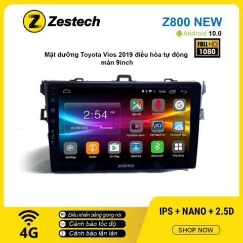 Màn hình ô tô DVD Android Z800 New – Toyota Altis 2008 – 2013 dưỡng nhỏ