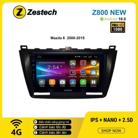 Màn hình ô tô DVD Android Z800 New – Mazda 6 2008 – 2015