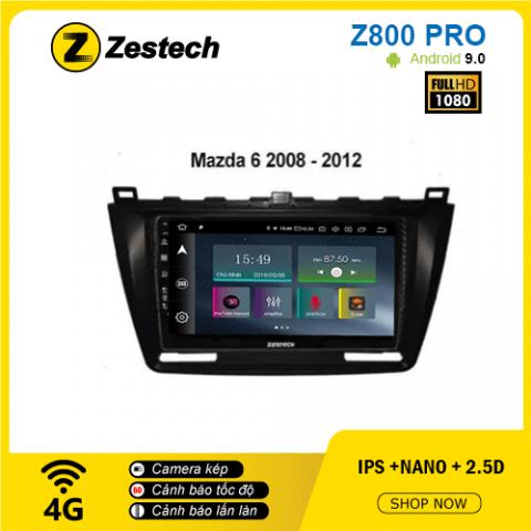 Màn hình ô tô DVD Z800 Pro – Mazda 6