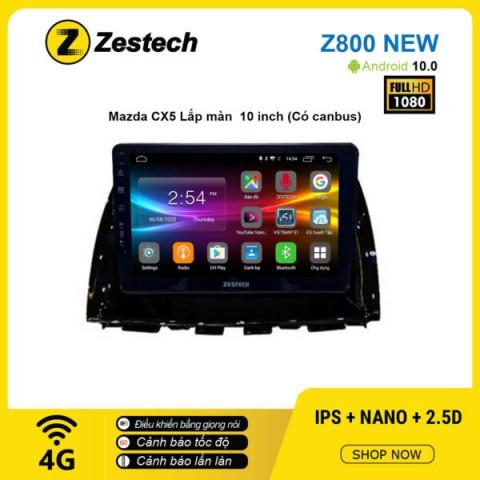 Màn hình ô tô DVD Android Z800 New – Mazda CX5 10inch có Canbus