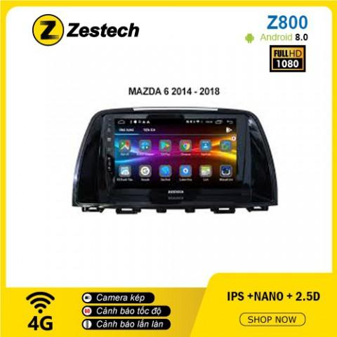 Màn hình ô tô DVD Android Z800 – Mazda 6