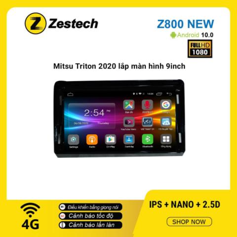 Màn hình ô tô DVD Android Z800 New – Mitsubishi Triton 2020