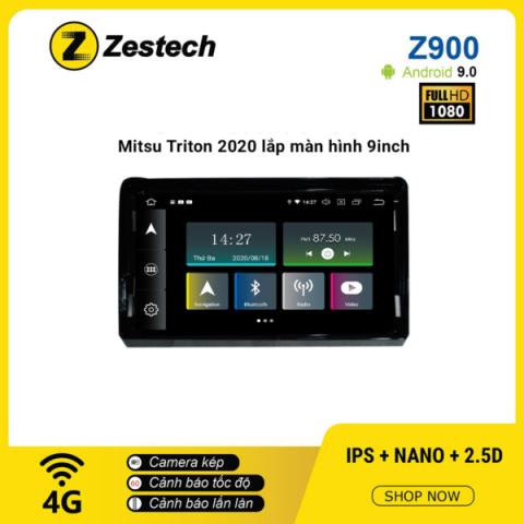 Màn hình ô tô DVD Android Z900 – Mitsubishi Triton 2020