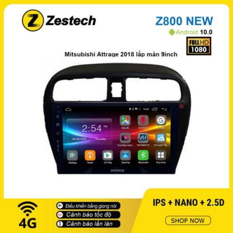 Màn hình ô tô DVD Android Z800 New – Mitsubishi Attrage 2018