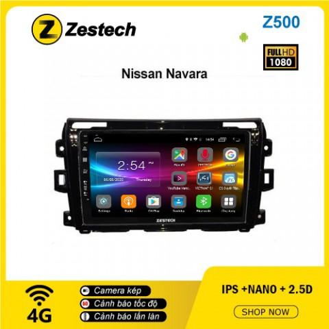 Màn hình ô tô DVD Android Z500 – Nissan Navara