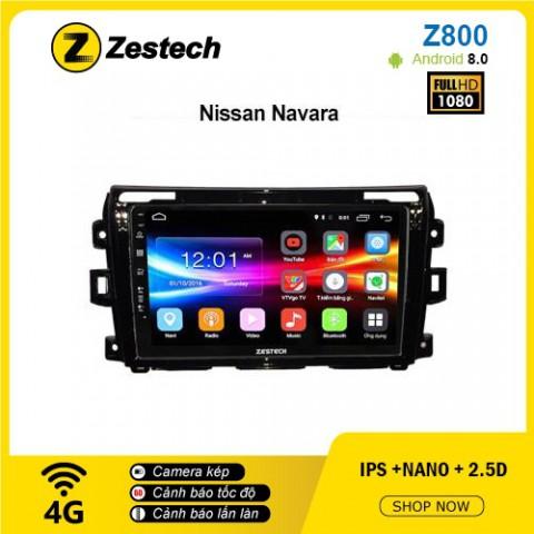 Màn hình ô tô DVD Android Z800 – Nissan Navara