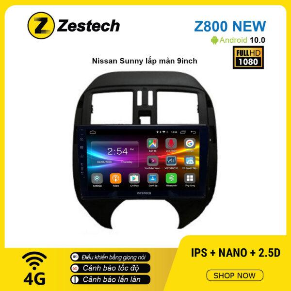 Màn hình ô tô DVD Android Z800 New – Nissan Sunny